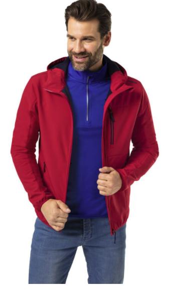 Reusch Herren Softshelljacke in rot oder schwarz (wind- und wasserabweisend) für 37,50€inkl. Versand (statt 50€)