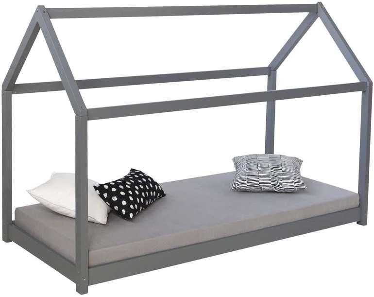 Homestyle4u Kinderhaus Kinderbett (90x200cm) für 116,91€ inkl. Versand (statt 150€)