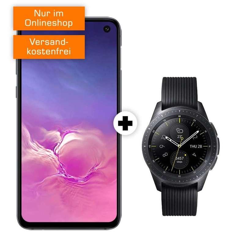 Galaxy S10e und Galaxy Watch (49€) + Vodafone Green (6GB LTE, Allnet) für 21,99€ mtl.