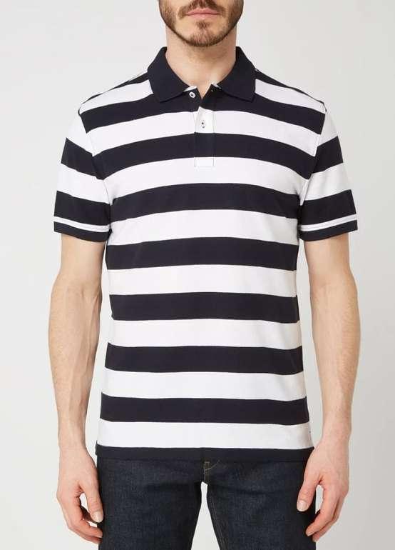 Montego gestreiftes Herren Poloshirt aus Piqué in 4 Farben für je 9,74€ inkl. Versand (statt 13€)