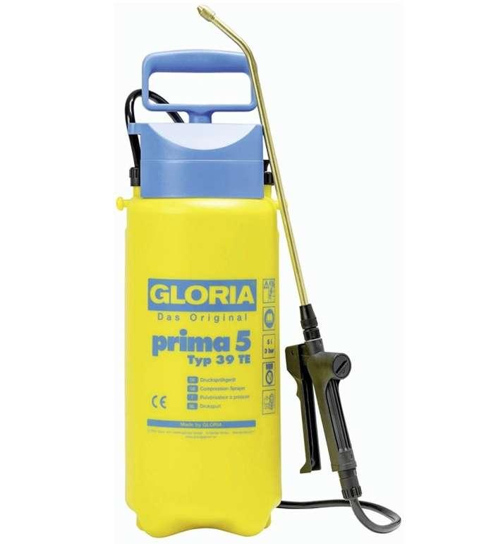 Amazon Prime Day: Gloria Prima 5 Drucksprüher (5 Liter Füllinhalt, Verstellbare Messingdüse) für 16,55€ (statt 25€)