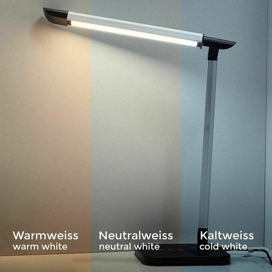 B.K. Licht LED Schreibtisch-Lampe