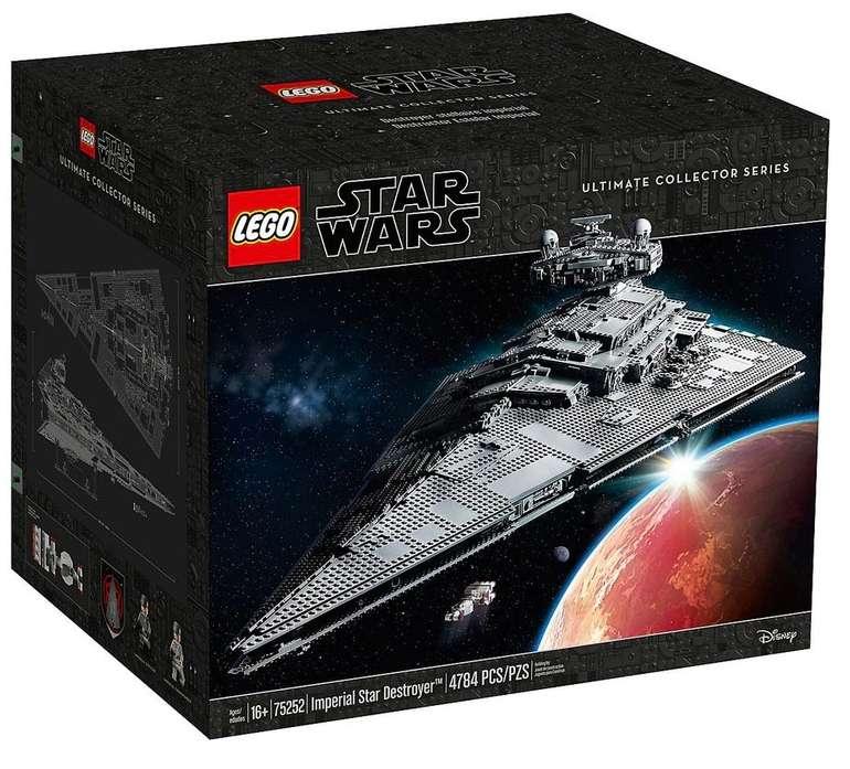 Lego Star Wars - Imperialer Sternzerstörer (75252) für 524,99€ inkl. Versand (statt 628€) - Kundenkarte!