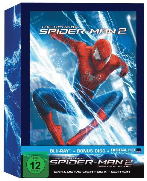 The Amazing Spider-Man 2: Rise of Electro - Limited Lightbox Edition für 16,93€