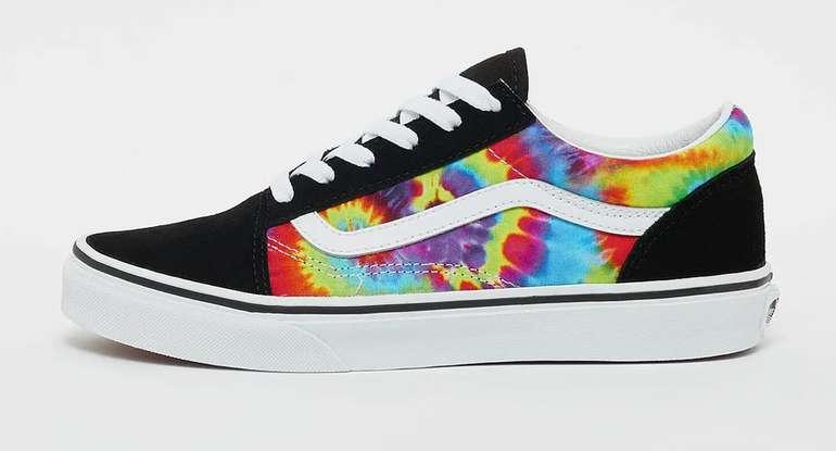 Vans Kinder Spiral Tie Dye JN Old Skool Sneaker für 42,48€ inkl. Versand (statt 55€)