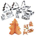 8er-Pack 3D Ausstechformen für Weihnachtsplätzchen nur 1,11€ inkl. Versand