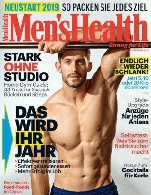 Men's Health Jahresabo für 54€ + 50€ Bestchoice Gutschein