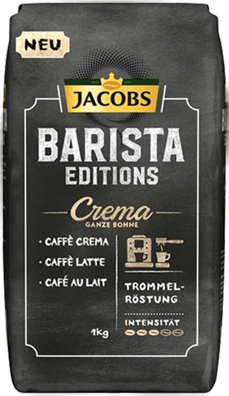 Jacobs Barista Editions Crema Kaffeebohnen (1 kg) für 9€ inkl. Versand (statt 16€)