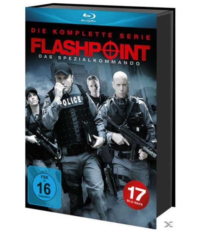 Flashpoint: Das Spezialkommando - Die komplette Serie (Blu-ray Box) für 36,99€ inkl. Versand (statt 45€)