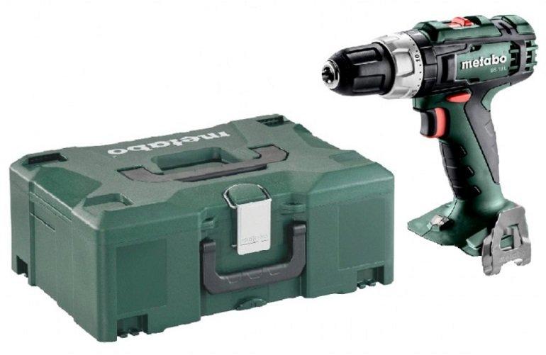 Metabo Akku-Bohrschrauber BS 18 L Solo im MetaLoc Koffer + Einlage für 55,90€ (statt 99€)