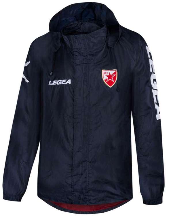 Roter Stern Belgrad Legea Herren Regenjacke in Rot oder Navy für 17,94€inkl. Versand (statt 25€)