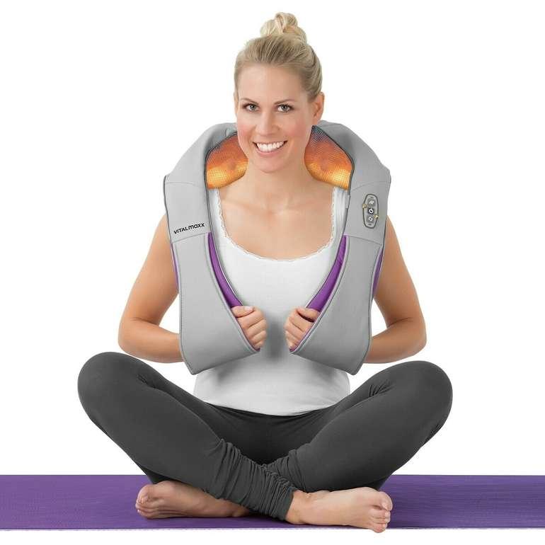 VITALmaxx Shiatsu Massagegerät mit Wärmefunktion für 29,99€ inkl. Versand