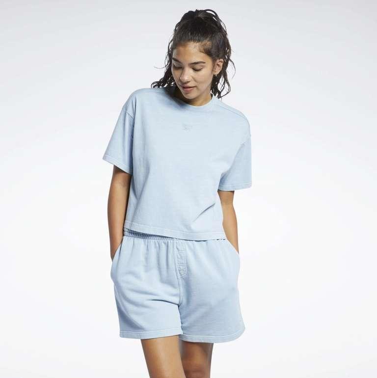 Reebok Classics Natural Dye Cropped T-Shirt für 26,40€ inkl. Versand (statt 33€)