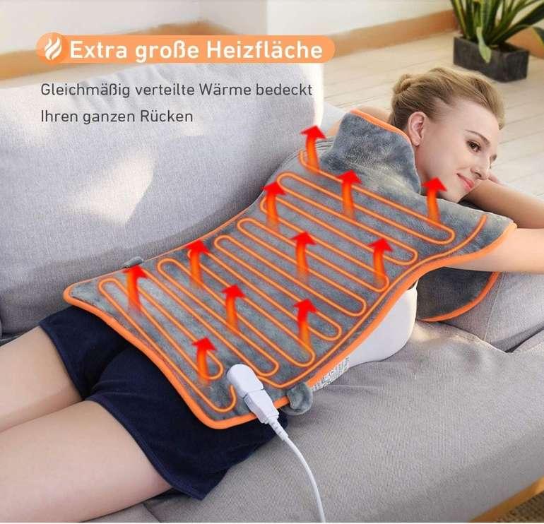 Atmoko Heizkissen für Nacken, Schulter und Rücken mit 3 Temperaturstufen für 30,09€ (statt 43€)
