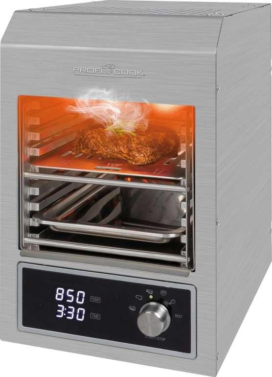 Profi Cook PC-EBG 1201 Elektro Beef-Grill (850°C, 1600W) für 194,99€ inkl. Versand (statt 273€)