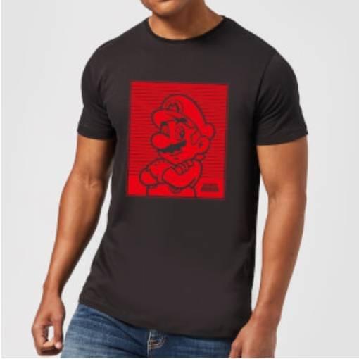 Nintendo Mario Retro Line T-Shirt für 10,99€ inkl. Versand (statt 18€)