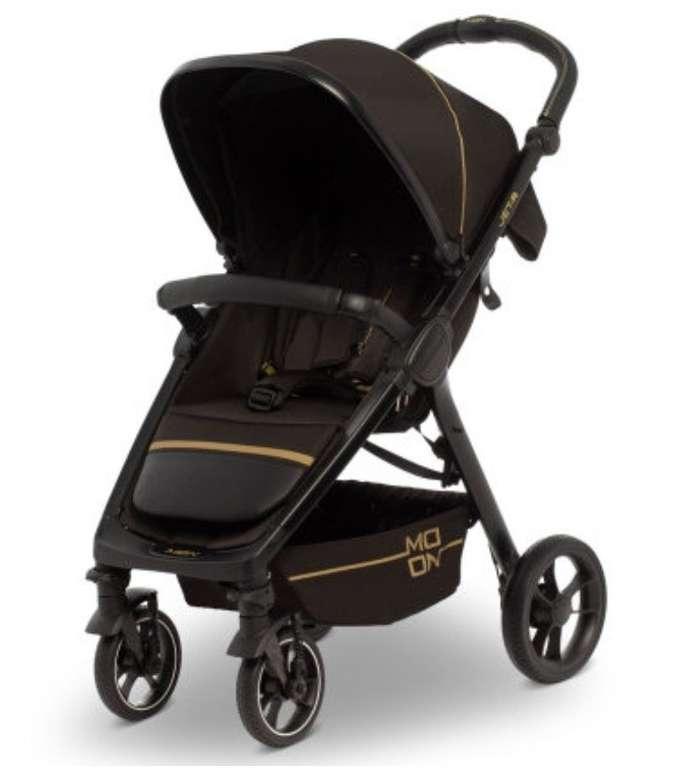 "Moon Sportwagen ""JET R"" in Black Gold Nylon (Kollektion 2020) für 131,55€ inkl. Versand (statt 200€)"