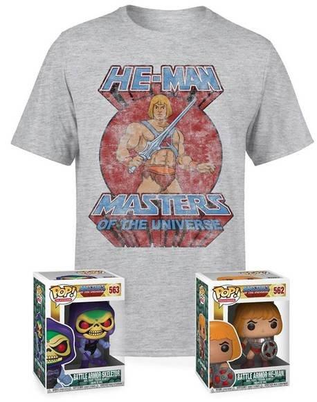 He-Man - Masters of the Universe Paket für 19,48€ inkl. Versand (statt ca. 35€)