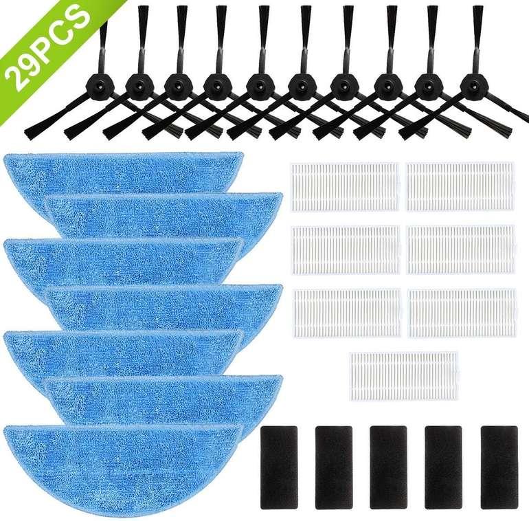 Safetyon 29-teiliges Ersatzteile Set für iLife Saugroboter für 13,99€ (Prime)
