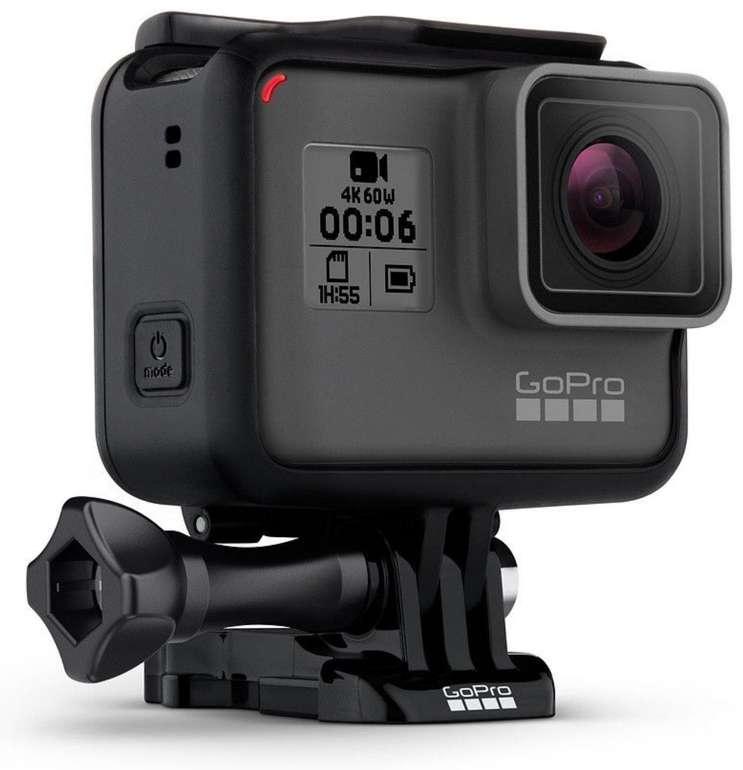 GoPro HERO 6 Black Edition Action-Kamera (refurbished) für 219,99€ inkl. Versand (statt 256€)