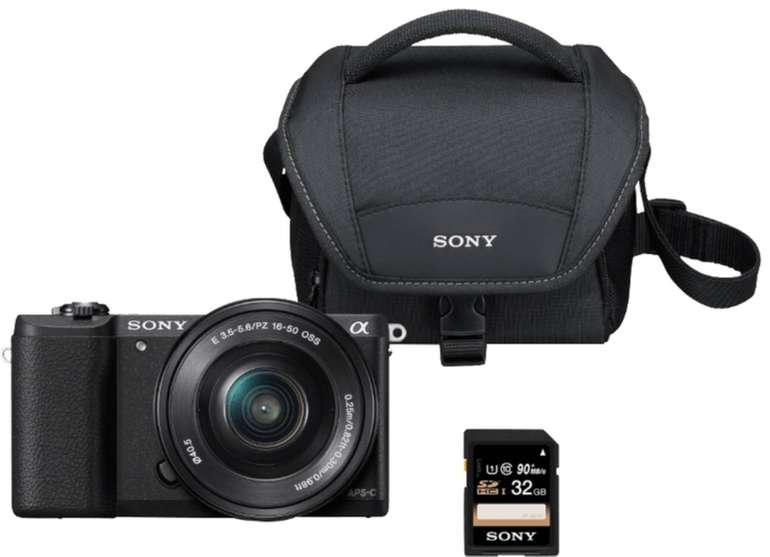 Sony Alpha 5100 Kit Systemkamera, 24 MP für 388€ inkl. Versand (statt 446€)