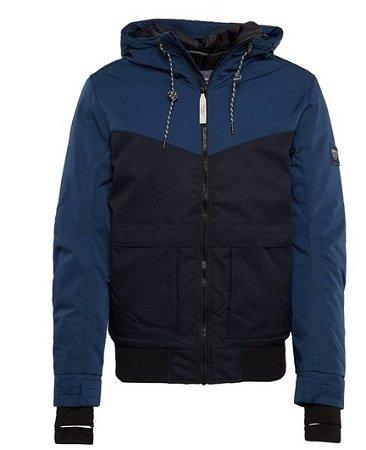 Tom Tailor Denim Blouson-Jacke mit Kapuze für 64,99€ (Statt 89€)
