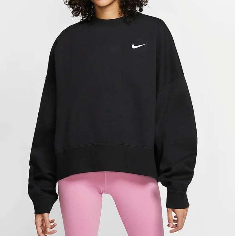 Nike Sportswear Essential Crew Fleece Damen Rundhalsshirt für 34,99€ (statt 40€) - Nike Membership!