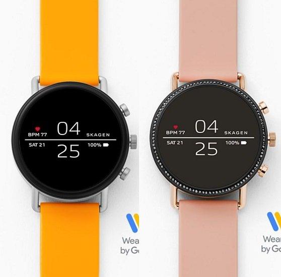 Skagen Falster 2 Smartwatch mit Silikonarmband (verschiedene Farben) für je 99€