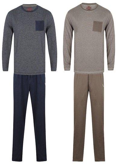 Tokyo Laundry Jeddo Herren Cotton Lounge Pyjama Set für 8,88€ zzgl. VSK (statt 20€)