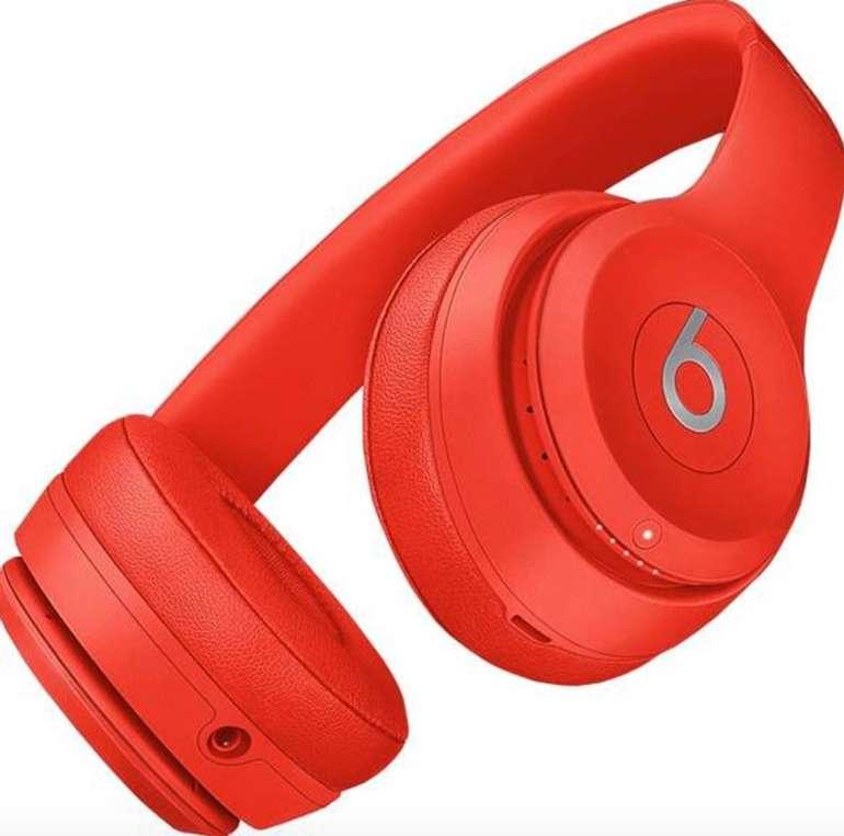 Beats by Dr. Dre Solo3 Wireless On-Ear-Kopfhörer in rot für 94,94€ inkl. Versand (statt 138€)