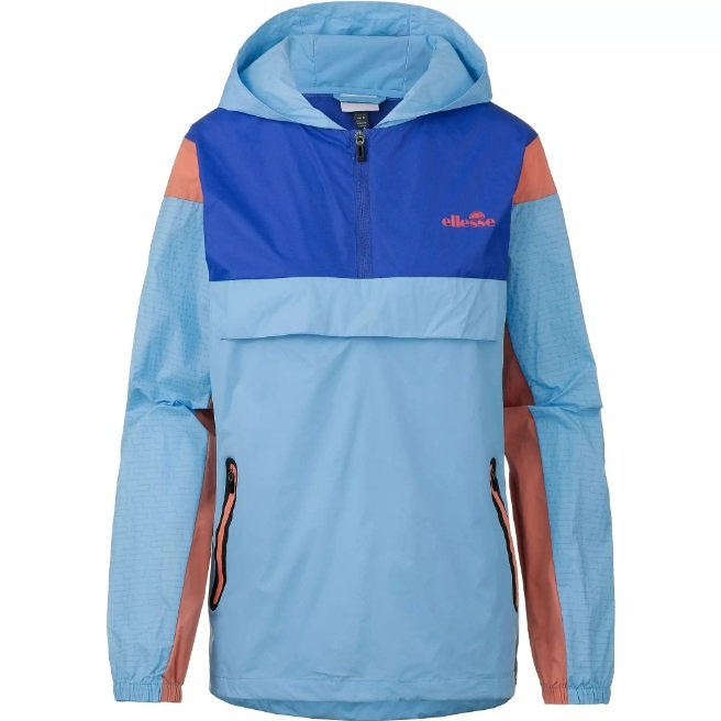 Ellesse Trefoil Damen Windbreaker in 'Light Blue' für 35,11€ (statt 50€)