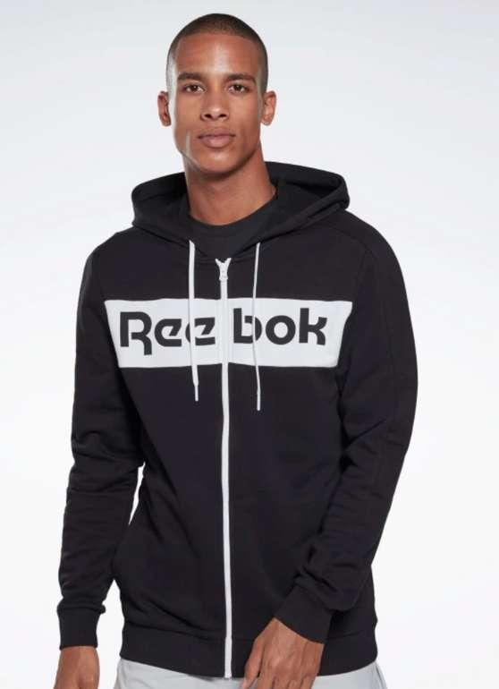 Reebok Training Essentials Logo Hoodie in schwarz für 33,58€inkl. Versand (statt 42€)