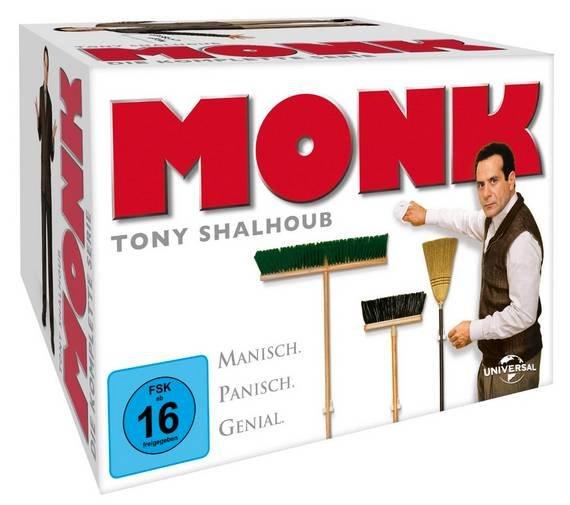 """""""Monk"""" Komplettbox (32 DVDs) für 29,96€ inkl. Versand (statt 37€)"""
