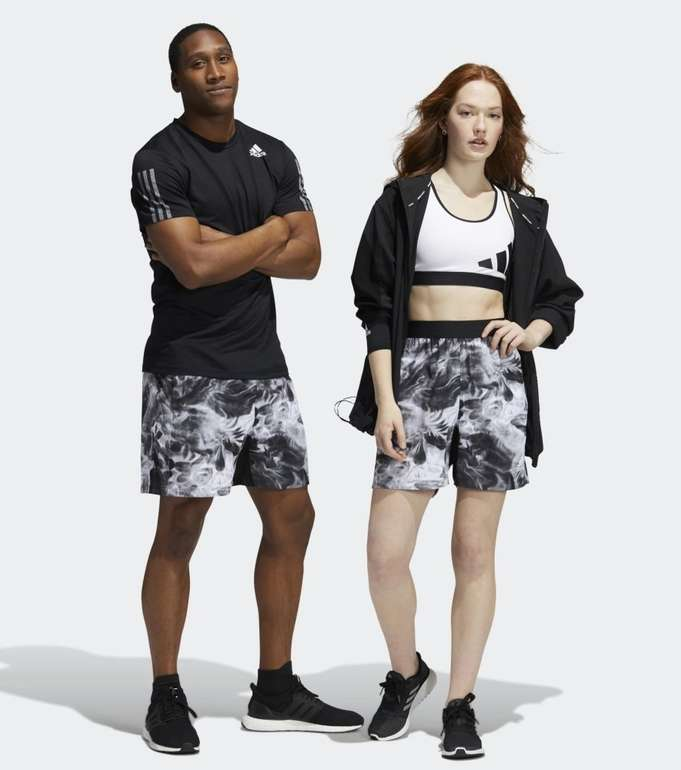 Adidas Unite Floral Shorts (genderneutral) in 4 Farben für je 22,95€ (statt 32€) - Creators Club