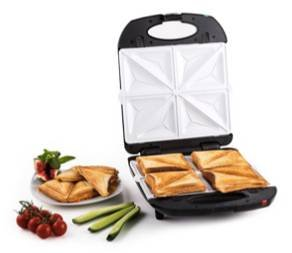 Klarstein Angebote mit -15% + 5-fach Superpunkte, z.B. Sandwich Maker für 42,49€