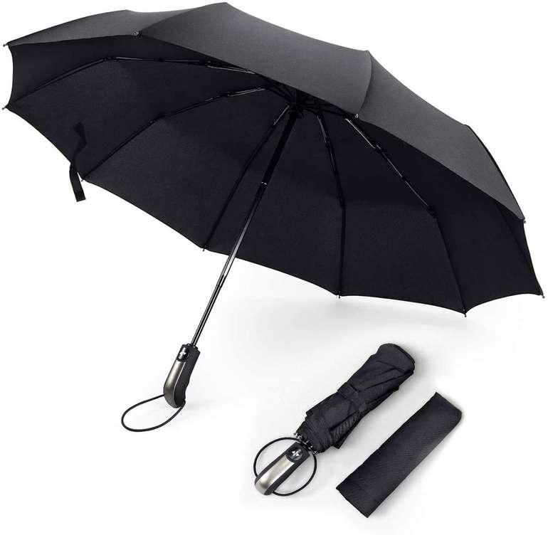 Fylina Regenschirm mit 10 Edelstahl-Rippen für 7,49€ inkl. Prime Versand (statt 15€)