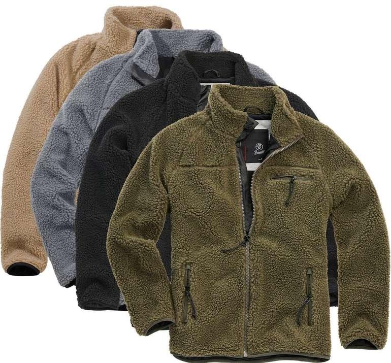 Brandit Herren Teddy Fleece Jacken für 39,90€ (statt 45€)