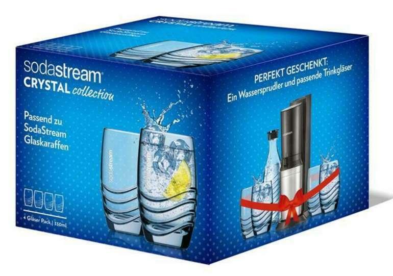 SodaStream Designglas 4er Pack mit 330ml für 12,59€inkl. Versand (statt 17€)