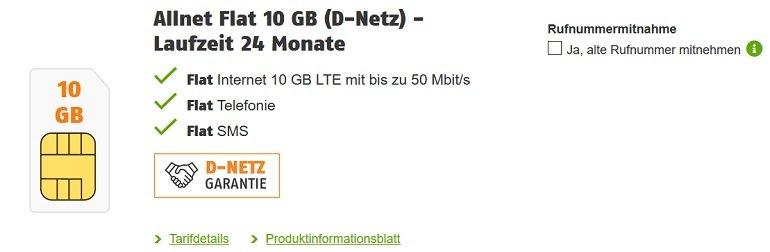 Samsung Galaxy S20 FE Klarmobil Vodafone Allnet-Flat mit 10GB LTE
