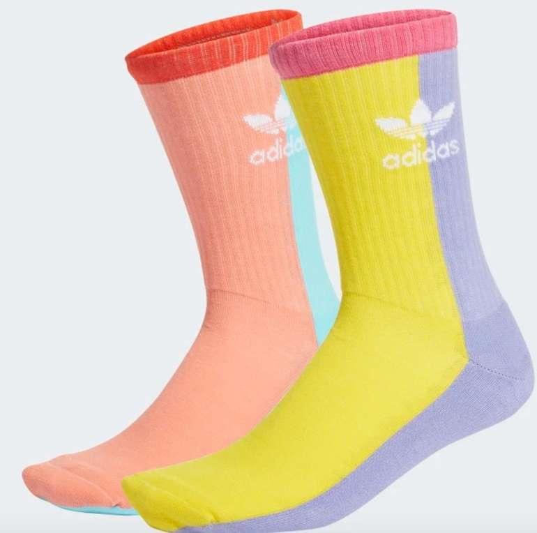 Adidas Socken Sale mit 30% Rabatt + VSKfrei (Creators Club!) - z.B. 2er Pack Crew Socken für 8,40€ (statt 12€)