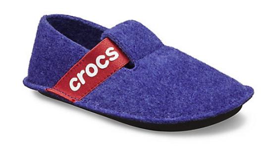 Crocs Kids Classic Hausschuh in blau für 19,99€inkl. Versand (statt 24€)
