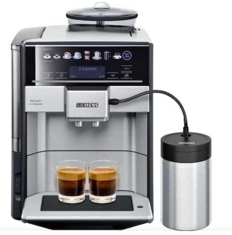 Siemens EQ 6 plus TE657F03DE Kaffeevollautomat für 687,99€ inkl. Versand (statt 738€)