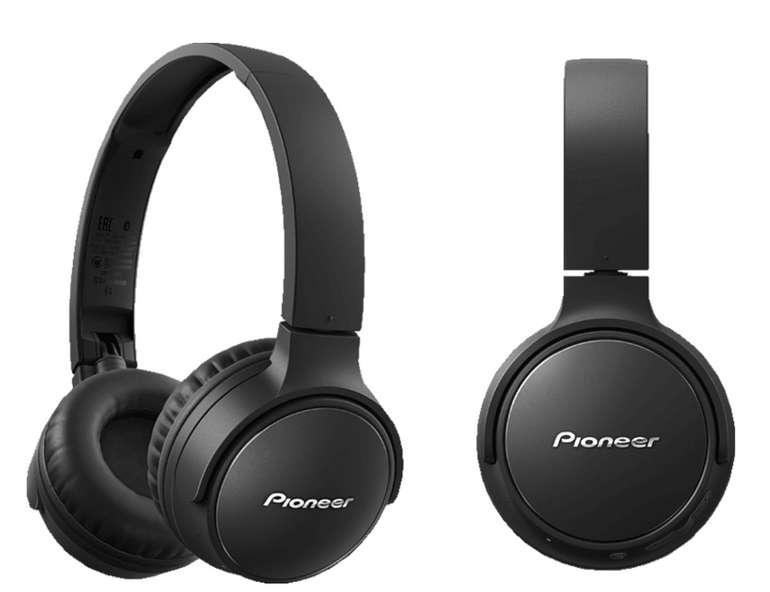Bestpreis: Pioneer SE-S3BT-B Bluetooth Kopfhörer in schwarz für 37,99€ inkl. Versand (statt 49€)