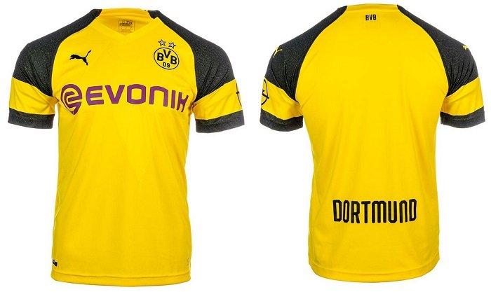 Puma BVB Borussia Dortmund Heimtrikot 2018/2019 für nur 34,90€ (statt 66€)