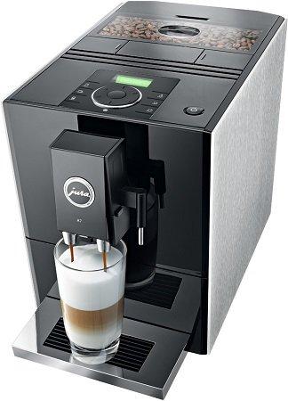 Jura A7 Kaffeevollautomat Aluminium/Schwarz für 599€ inkl. VSK (Statt 699€)