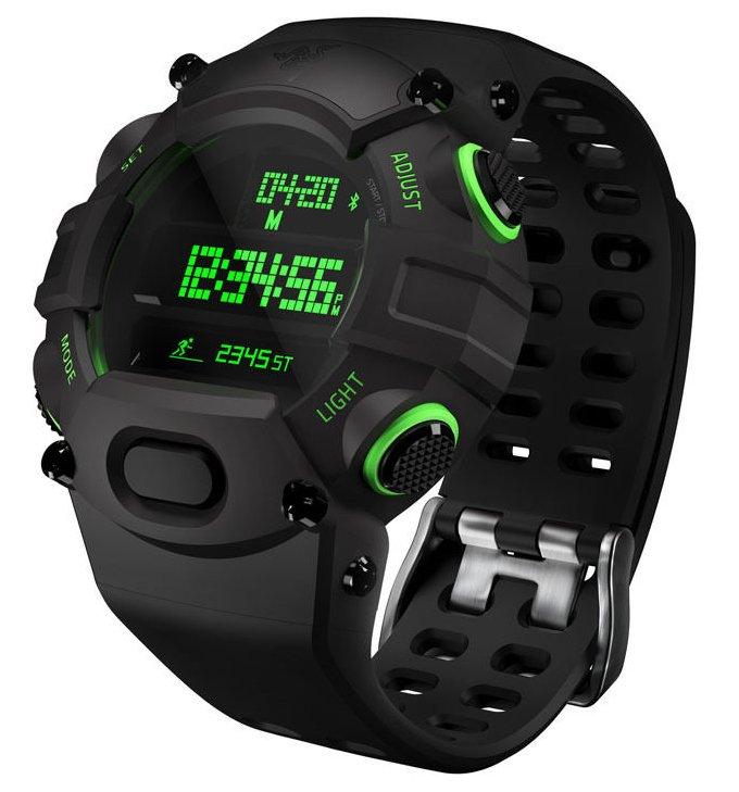 Razer Nabu Watch - Armbanduhr mit Aktivitäts-Tracker zu 33,89€ (statt 75€)