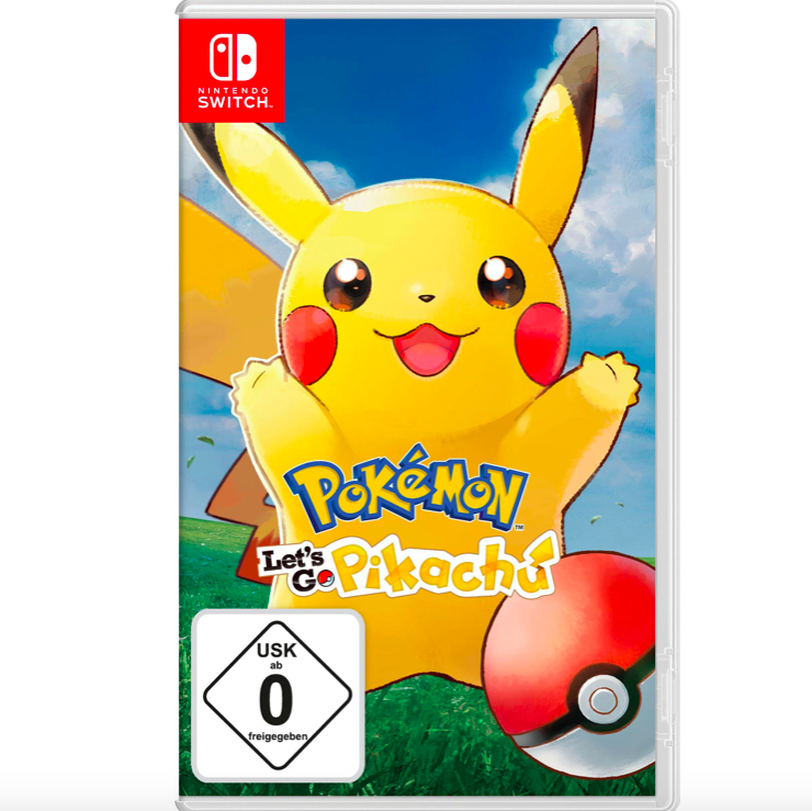 Pokémon Let's Go Pikachu / Evoli - Nintendo Switch für 35,94€ (statt 42€)
