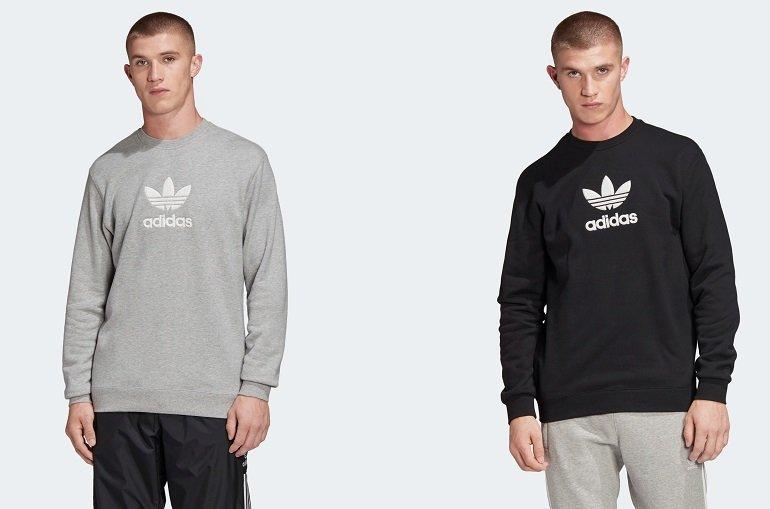 adidas Premium Sweatshirt in Grau