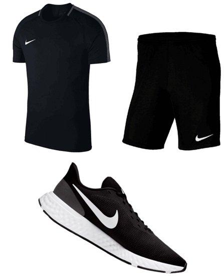 Nike Trainingsset 3-teilig (Shirt, Short & Schuhe) für 53,80€ (statt 68€)