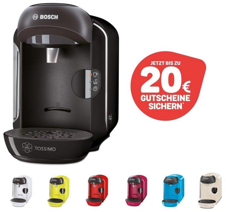 Bosch Tassimo Vivy Kapselmaschine (B-Ware) + 20€ Gutschein für nur 24,99€